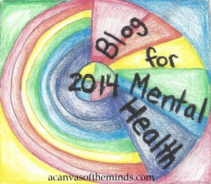 2014 Blog For Mental Health badge by Piper Macenzie
