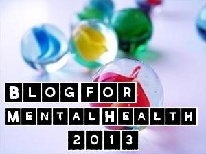 """2013 Blog For Mental Health badge by Tallulah """"Lulu"""" Stark"""
